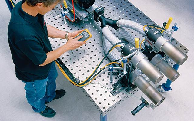 Leister Technologies Production and Controlling