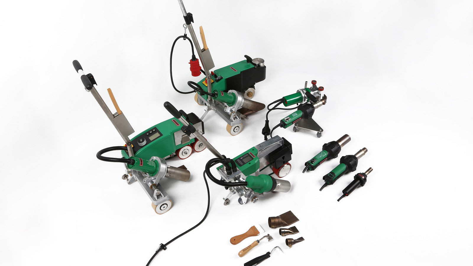 Leister Plastic Welding - Roofing Equipment