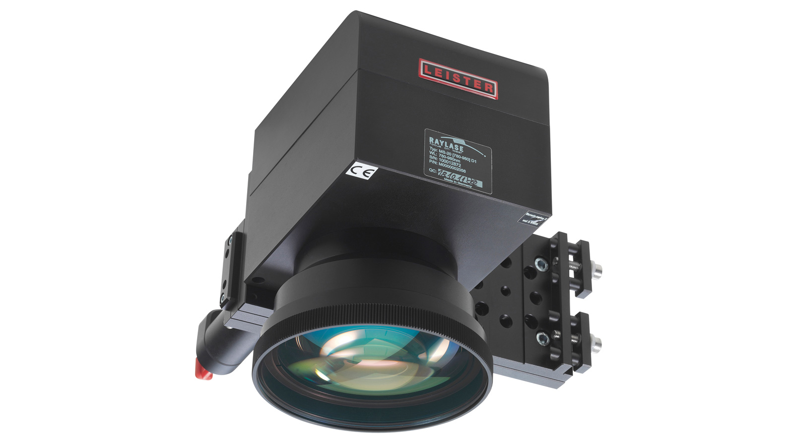 Laser component Scanner optic