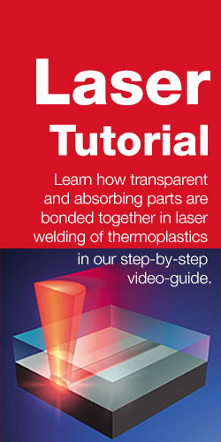 Leister Laser Welding Tutorial: Learn how transparent and absorbing parts are bonded together in laser welding of thermoplastics in our step-by-step video-guide.