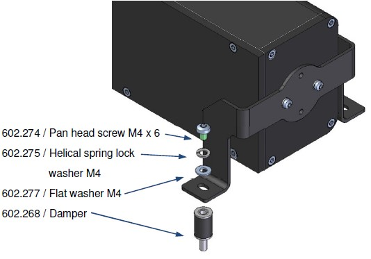 Axetris laser gas detection: how to remove electronic bos from LGD F200.