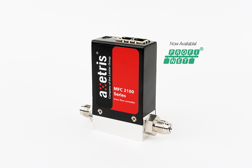 Mass Flow Controller MFC 2162 with PROFINET interface