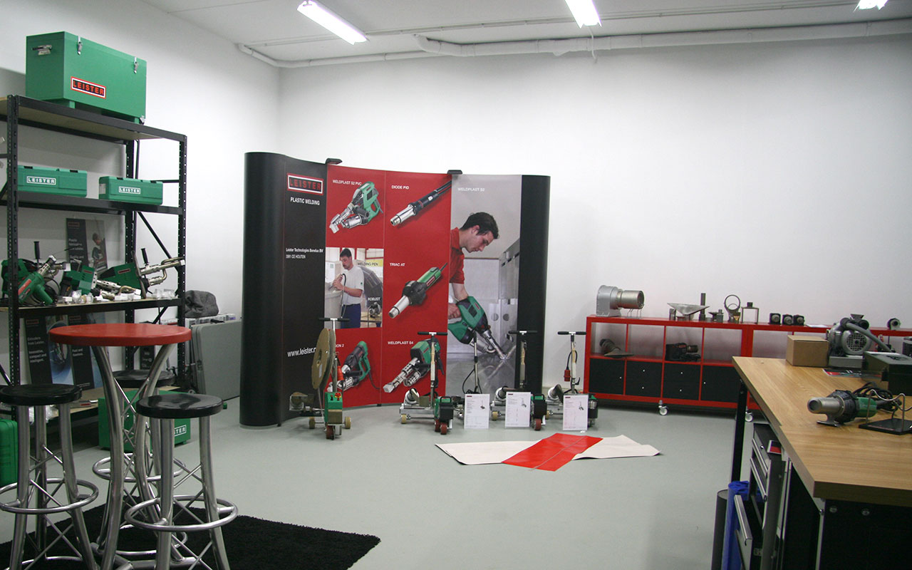 Leister Benelux Show Room