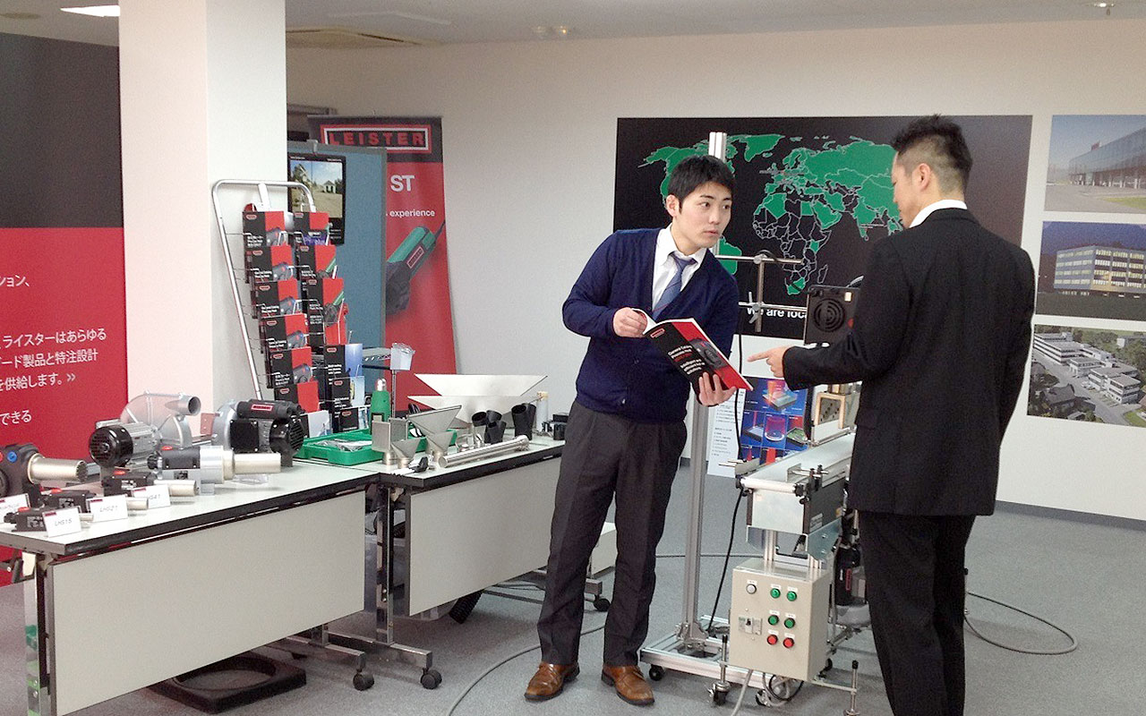 Leister Japan Show Room