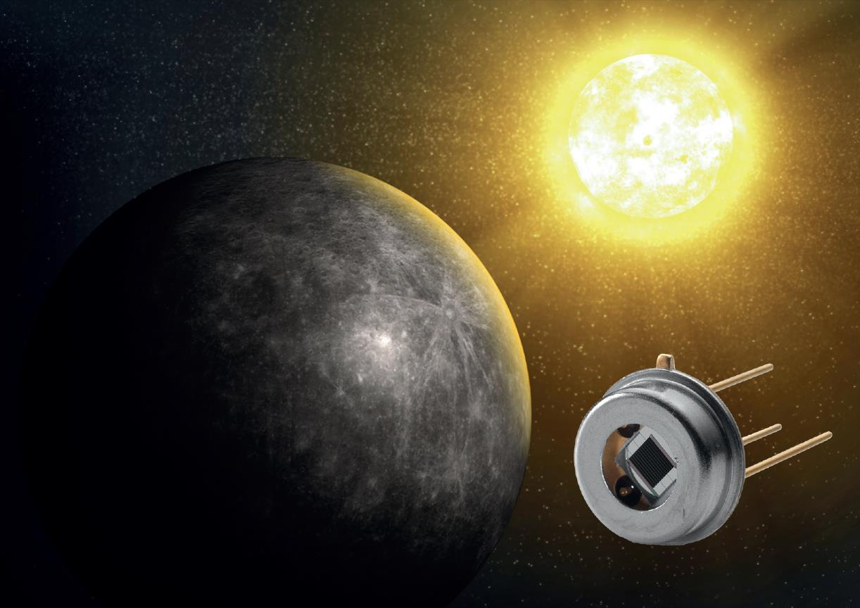 Axetris infrared sources will be part of the MERTIS Infrared Spectrometer on-board the planned BepiColombo Mercury Mission