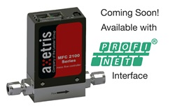 Axetris MFD coming soon with Profinet Interface