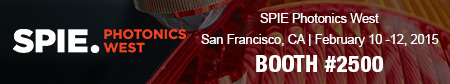 SPIE Photonics West - San Francisco 2015 (promotional banner)