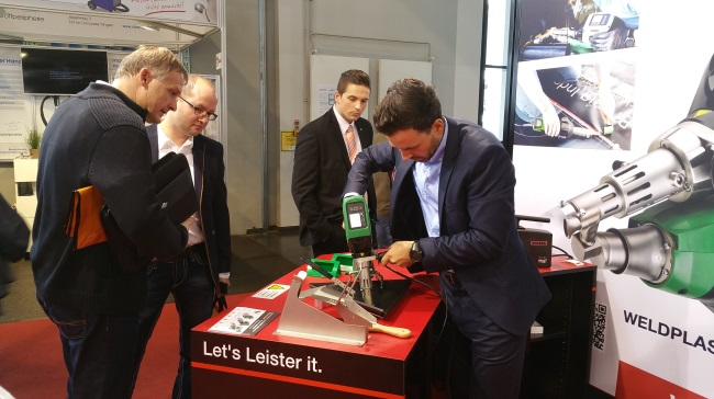 Leister presents the WELDPLAST S1 and the new NOVOLAS TTS