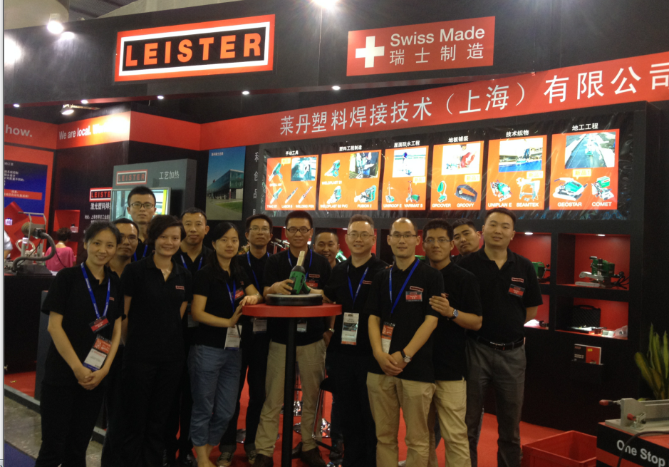 Leister China at the ChinaPlas 2015