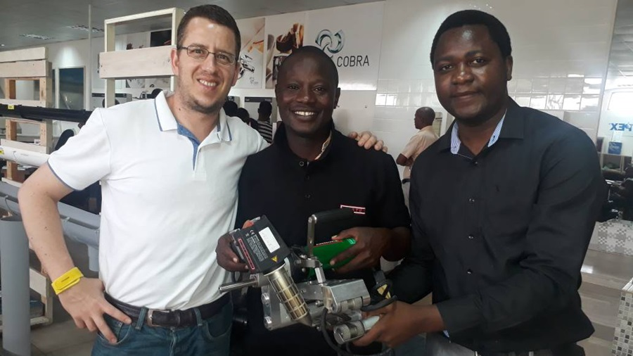 Leister Sales Manager in Tanzania