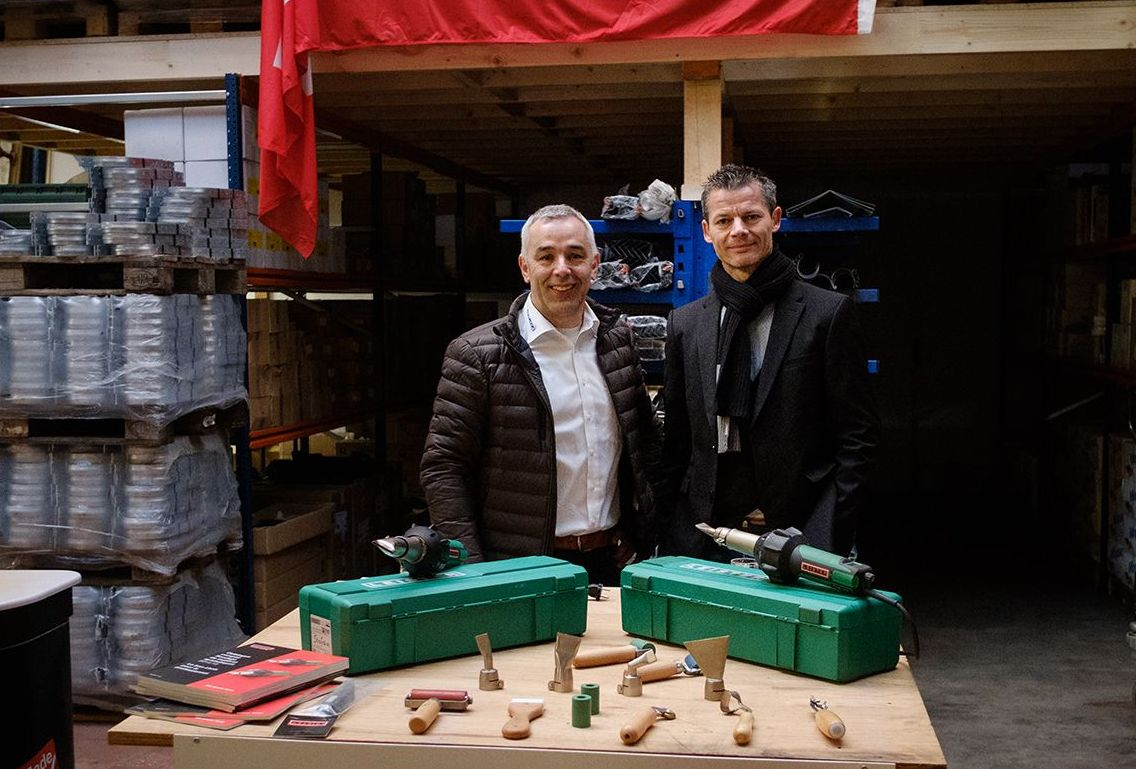 Leister attends open house at FINN ROOF dachsysteme AG