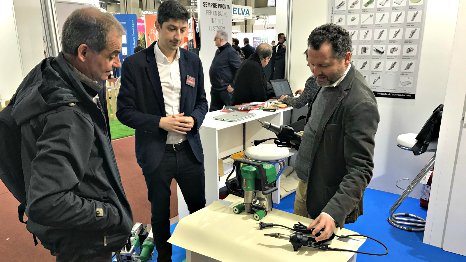 Leister Technologies Italia a Forum Piscine