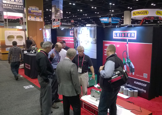 Leister launches UNIROOF AT at IRE 2016