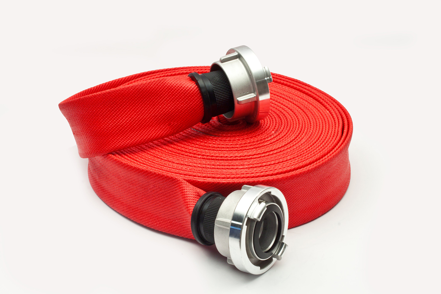 Firefighting hose by Sapin made with Leister technology